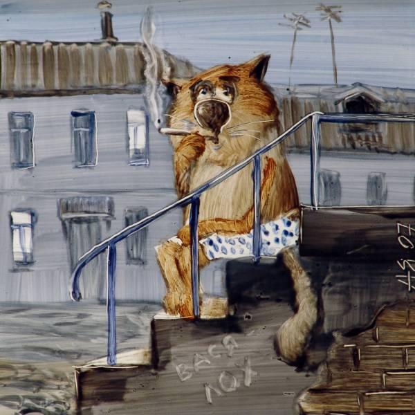 Коты Анатолия Ярышкина (21 фото)